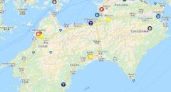 クラフトビール地図四国・Craft Beer Map Shikoku, Japan