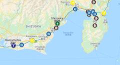 クラフトビール地図静岡・Craft Beer Map Shizuoka, Japan