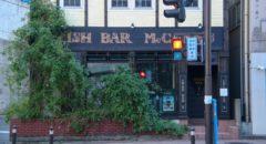 Irish Bar McCann's - Entrance