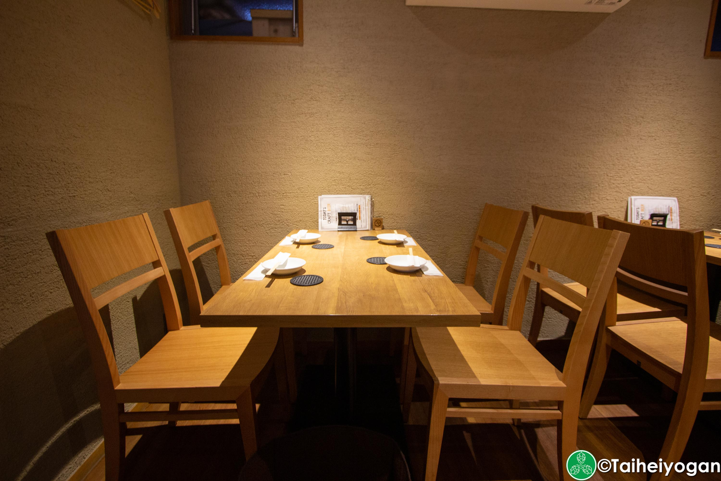 Funabashi Beer - 船橋ビール醸造所 - Interior - Table Seating