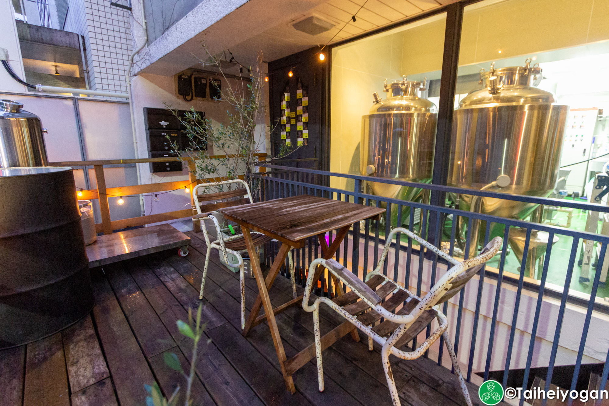 Inazuma Beer - Outdoor Seating