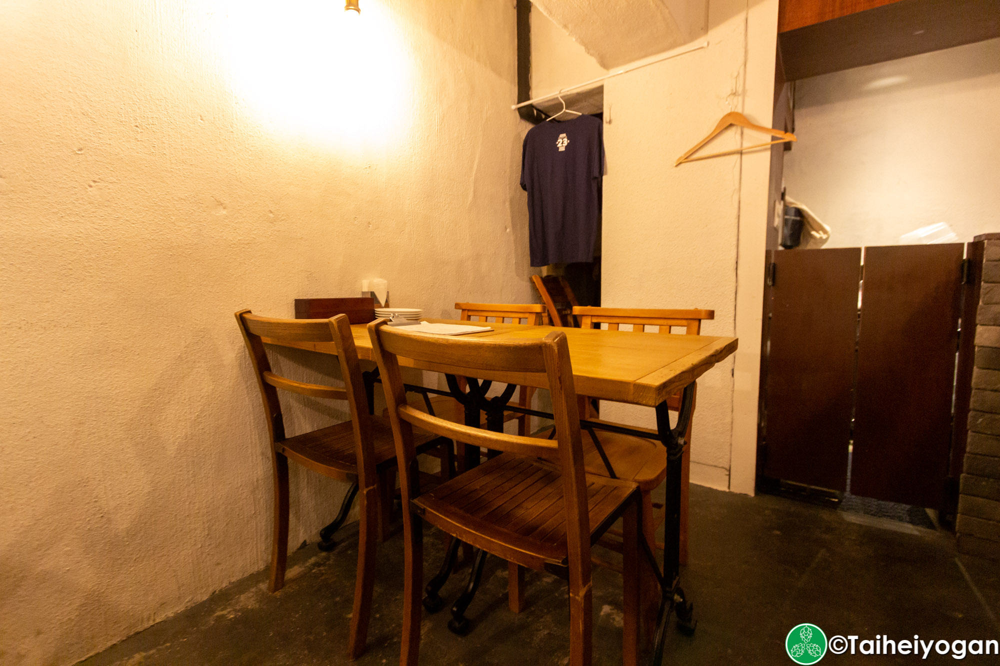 Inazuma Beer - Interior - Table Seating