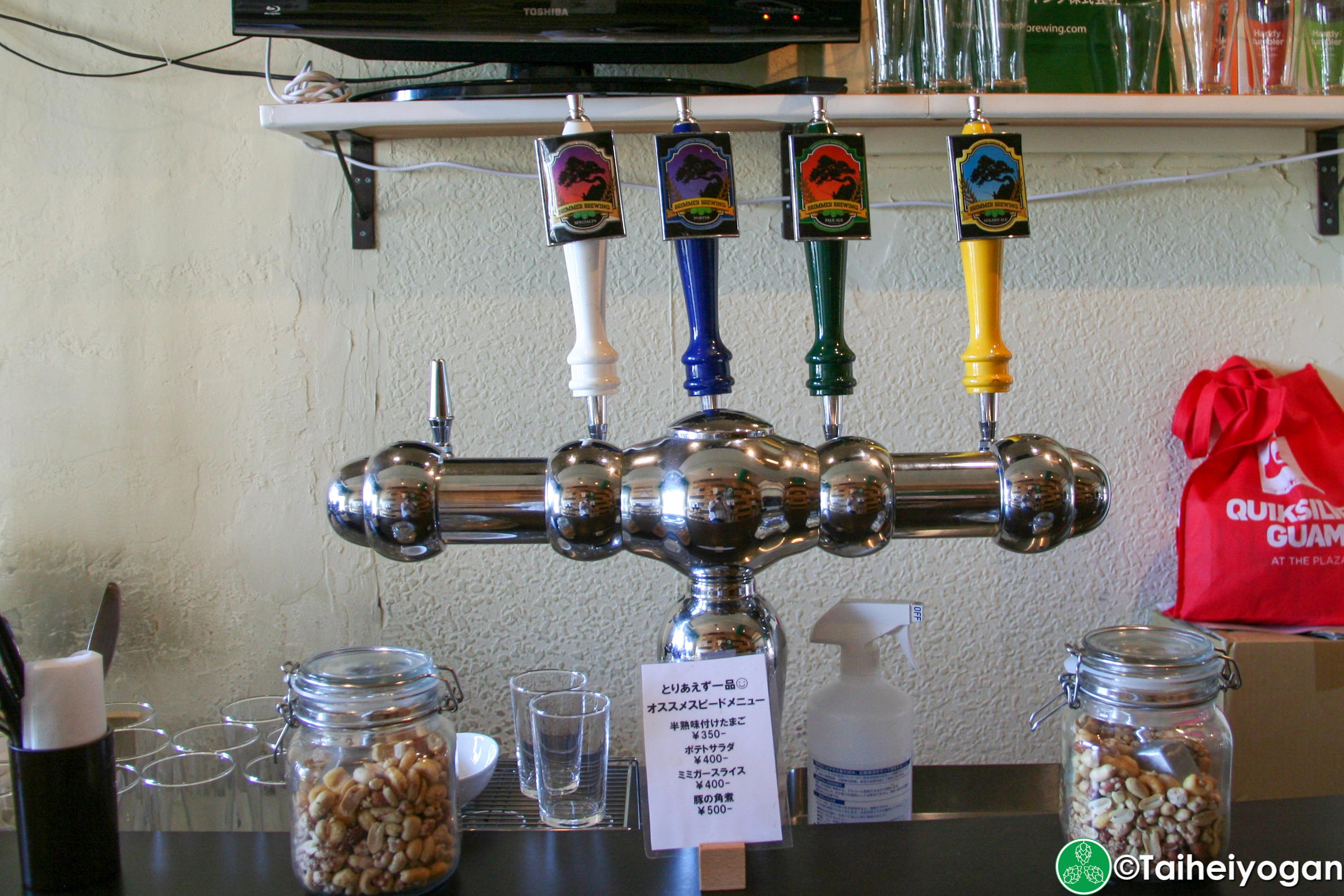 Brimmer Beer Station- Interior - Beer Taps