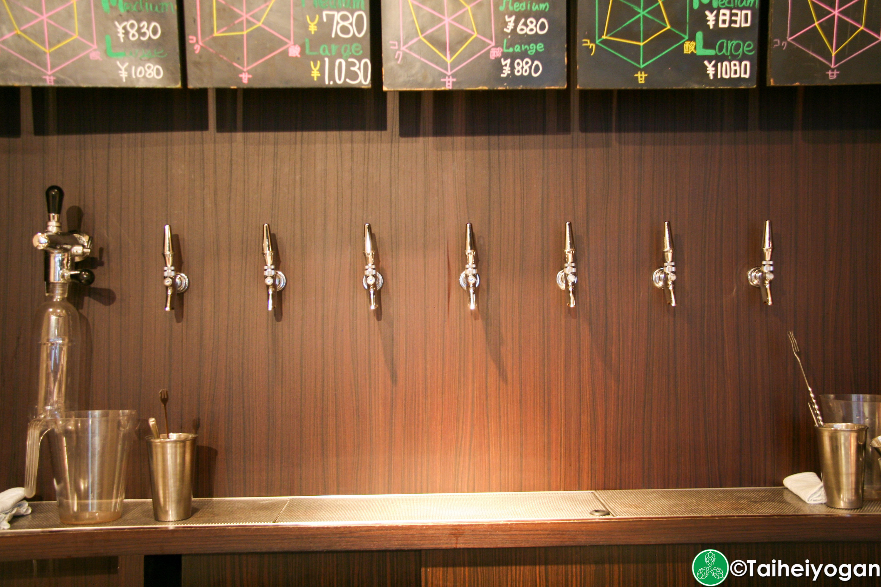 T.T Brewery - Interior - Bar Taps