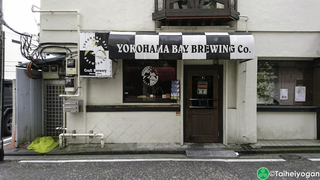 Yokohama Bay Brewing (Kannai) - Entrance