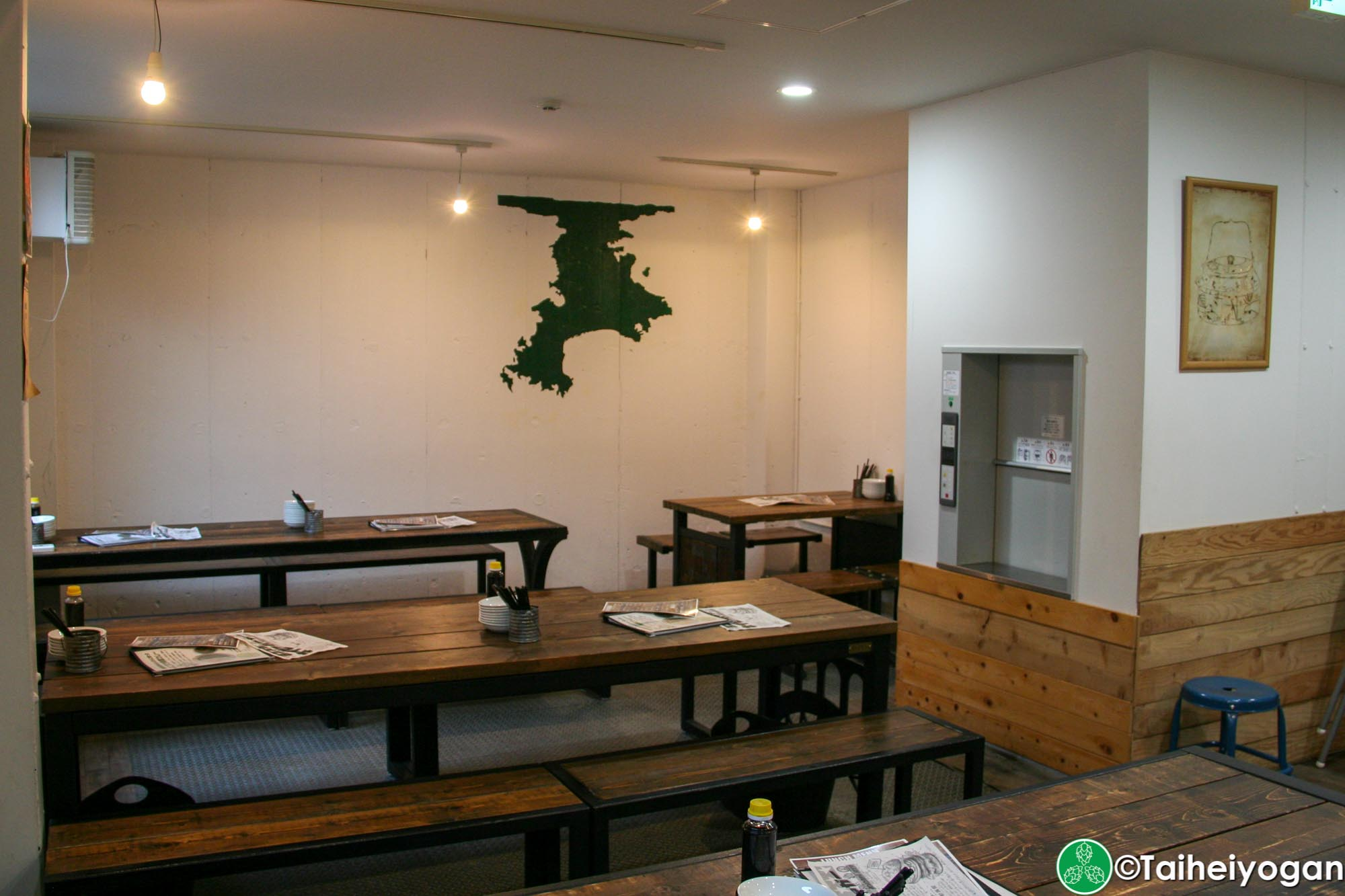 Yokosuka Beer - Interior - 2F - Tables