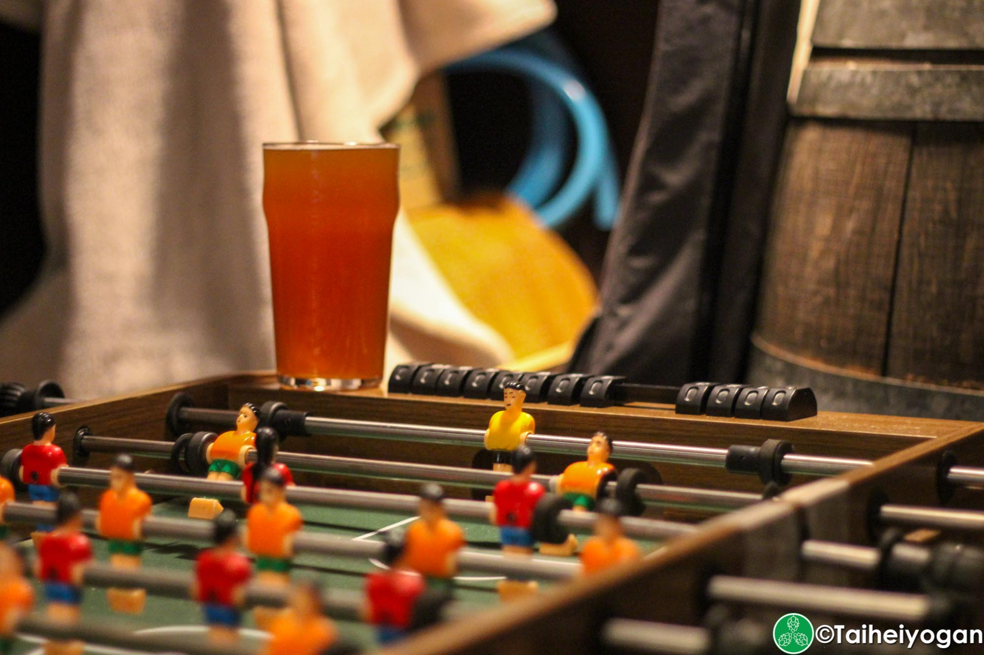Beer Engine - Interior - Foosball Table
