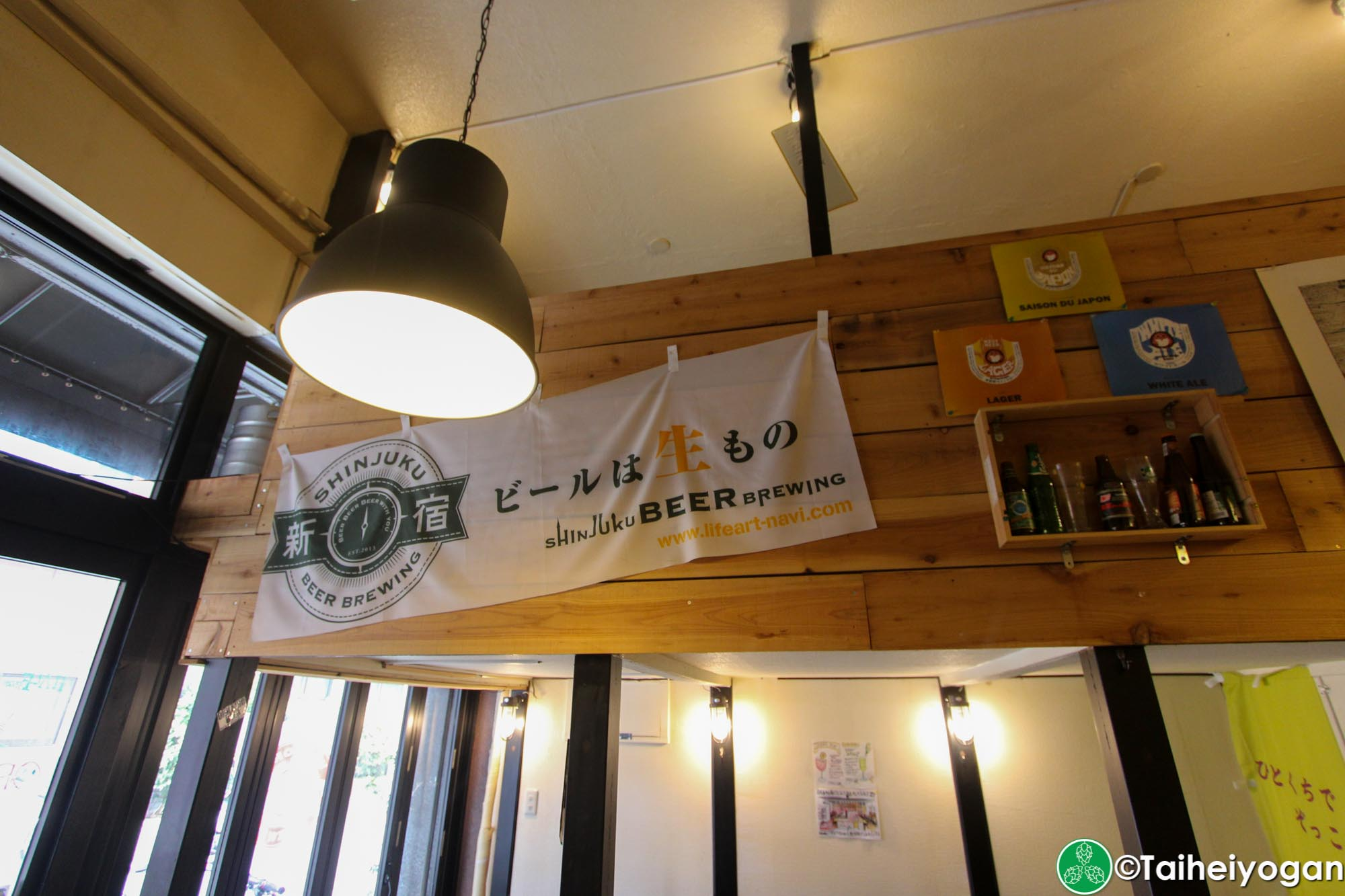 Vector Beer (Kinshicho) - Interior - Decorations