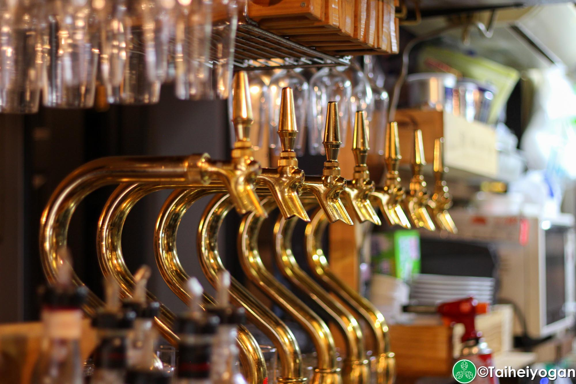 Vector Beer (Kinshicho) - Interior - Beer Taps