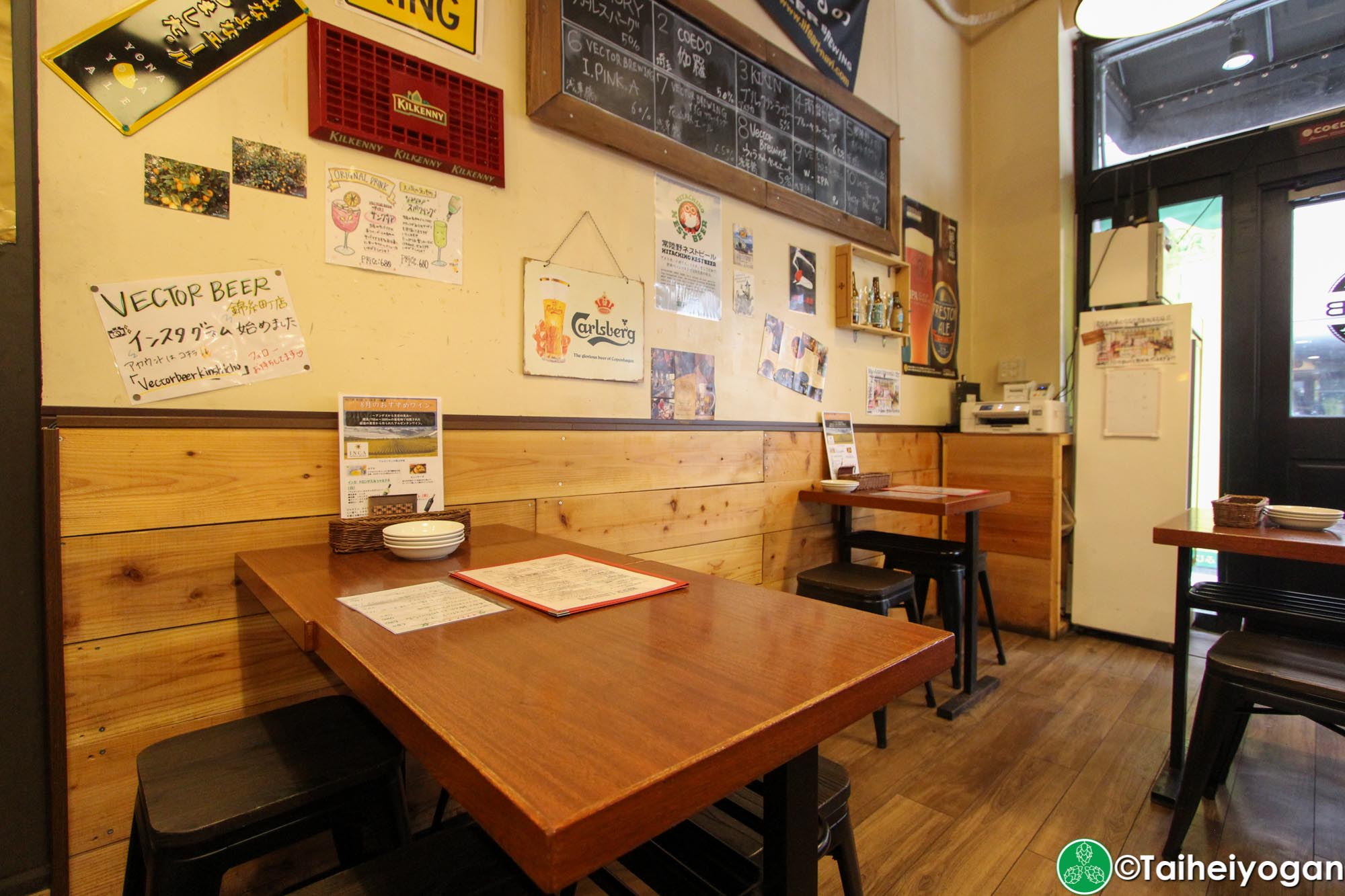 Vector Beer (Kinshicho) - Interior - Seating