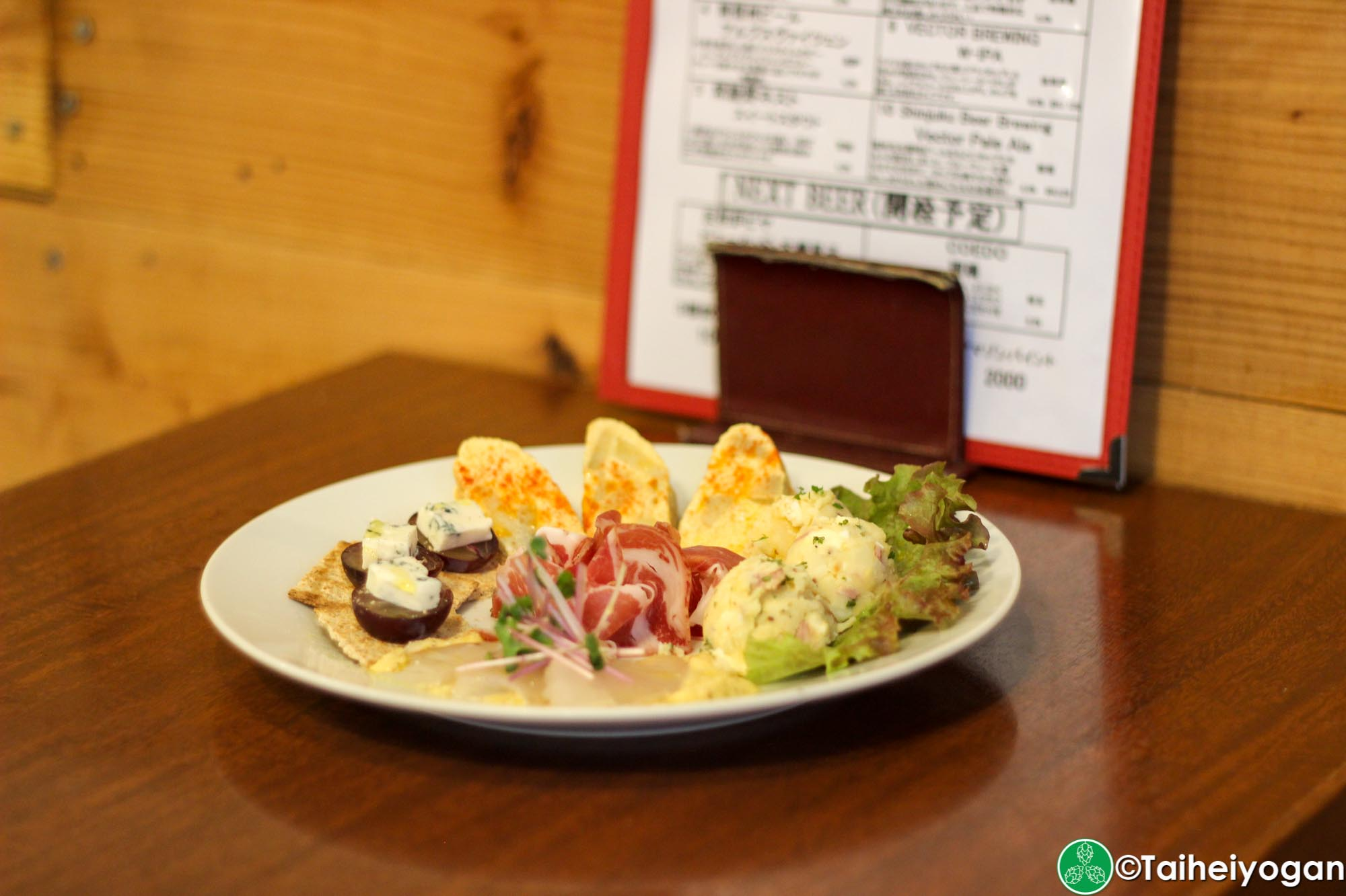 Vector Beer (Kinshicho) - Menu - Appetizer Plate