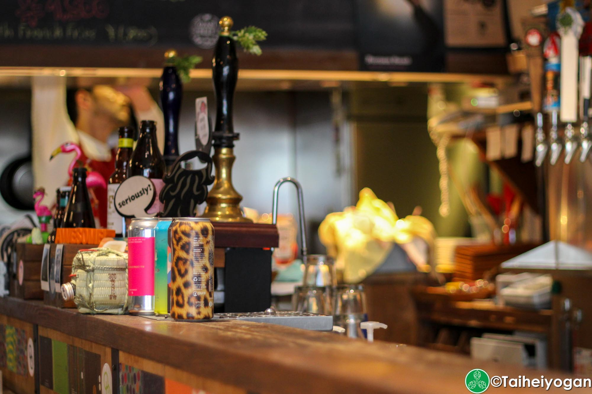 Watering Hole - Interior - Hand Pumps