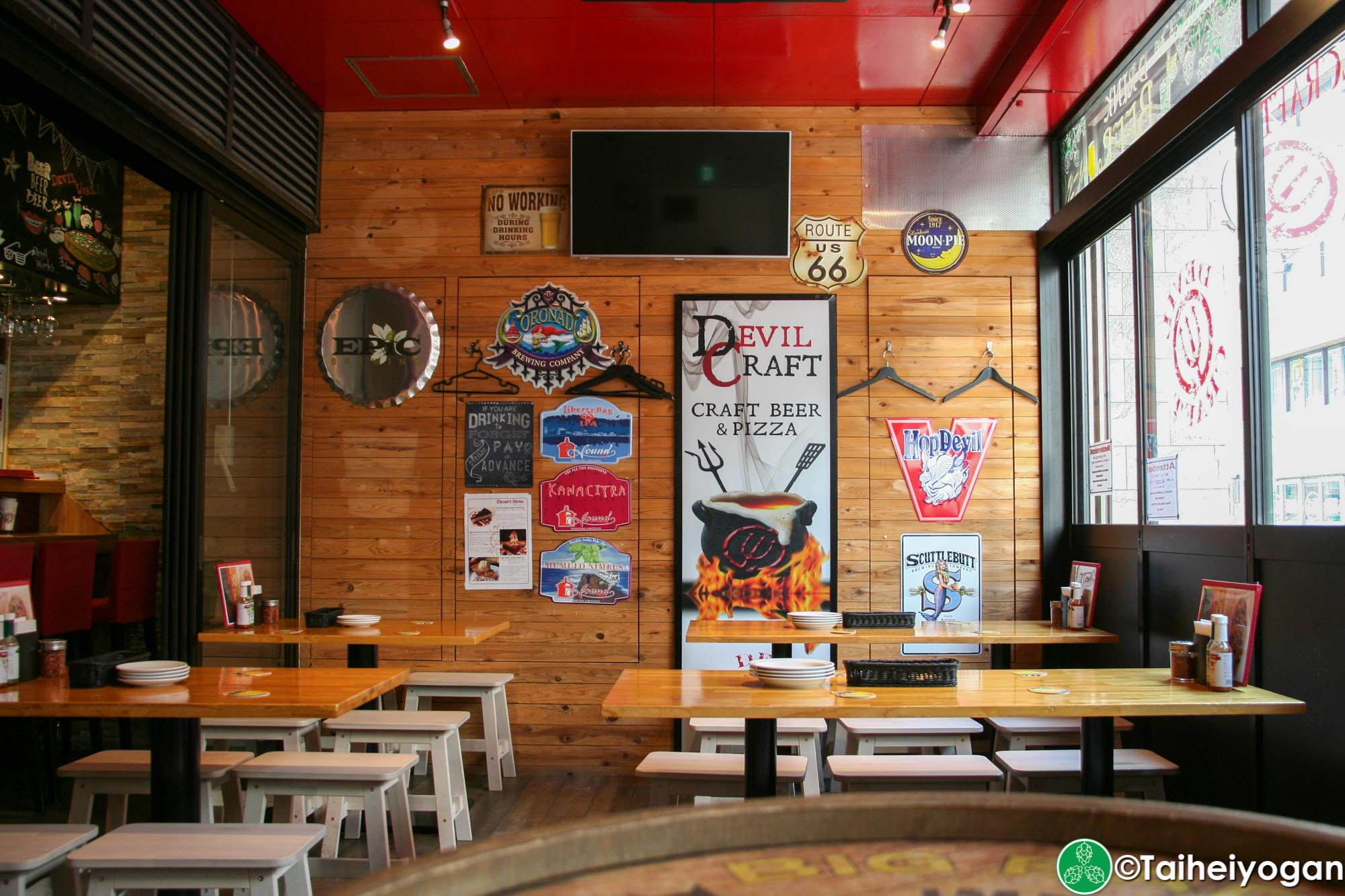 DevilCraft (Hamamtsucho・浜松町店) - Interior - Terrace Seating Area