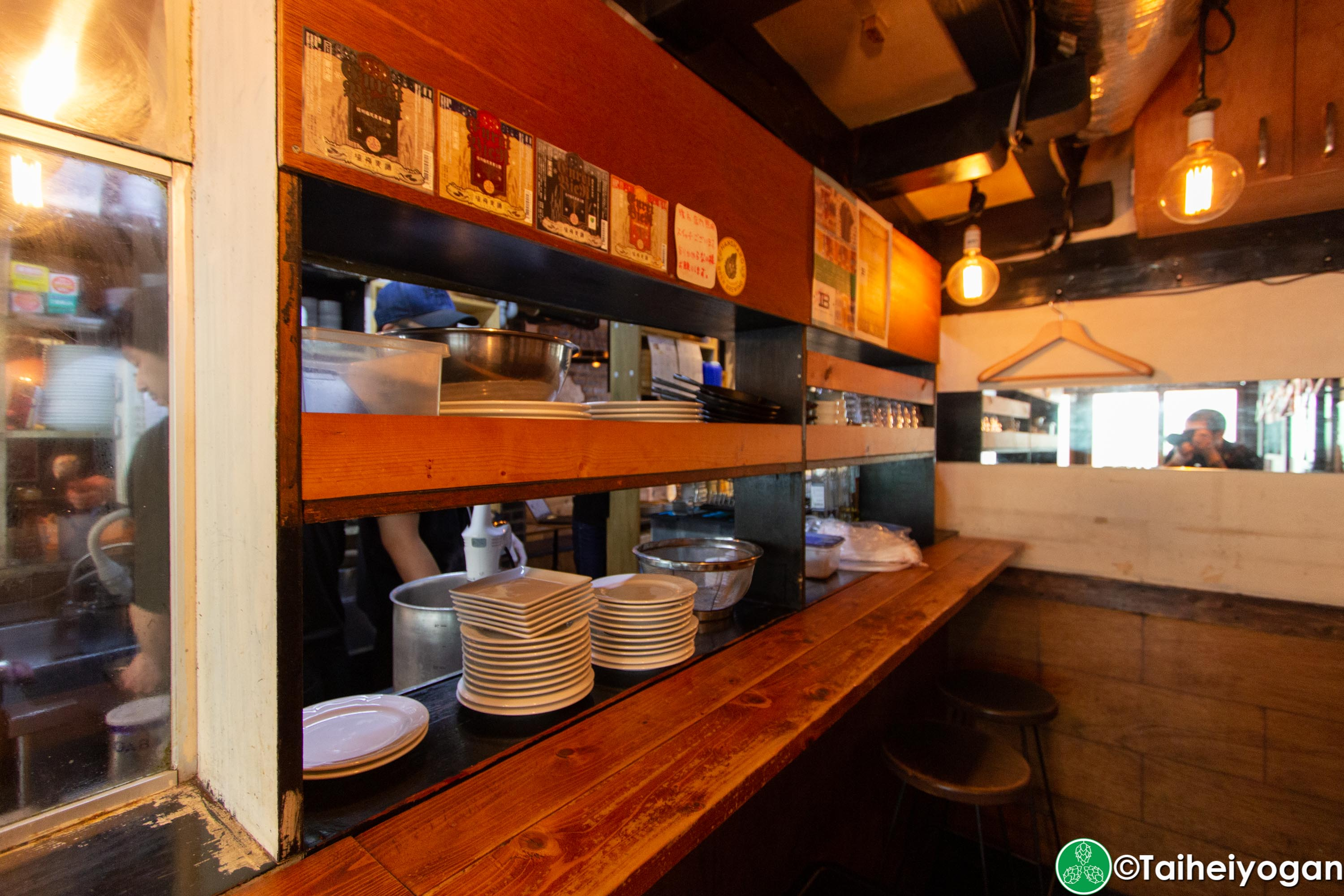 Craft Beer Bar Ibrew (Ginza/銀座) - Interior - Bar Counter