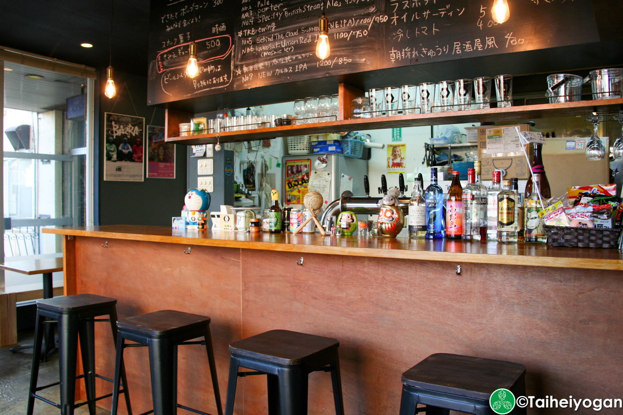Monkey Wrench - Interior - Bar Counter
