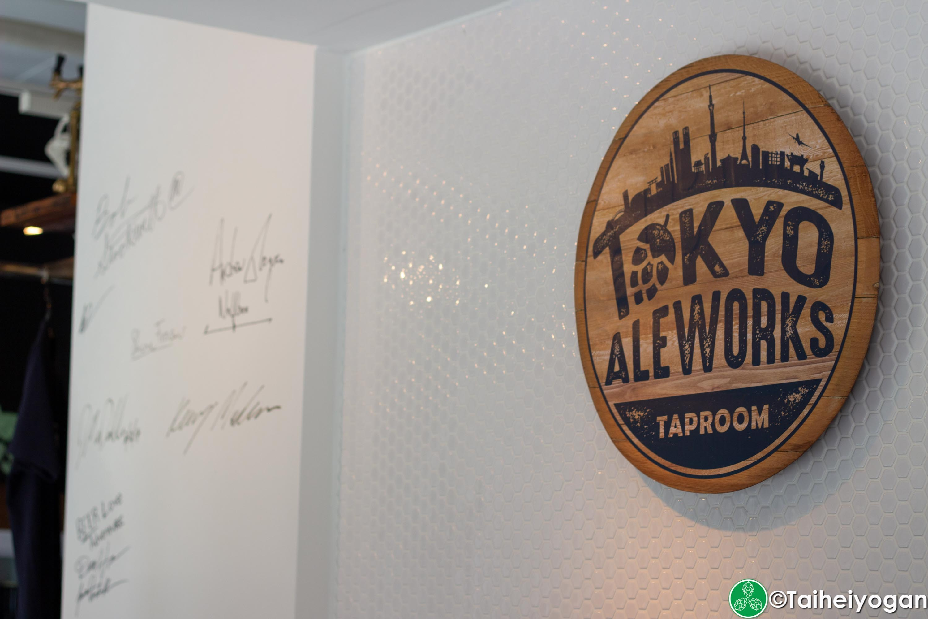 Tokyo Aleworks Taproom - Interior - Decorations