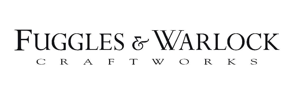 Fuggles & Warlock Logo (Text)