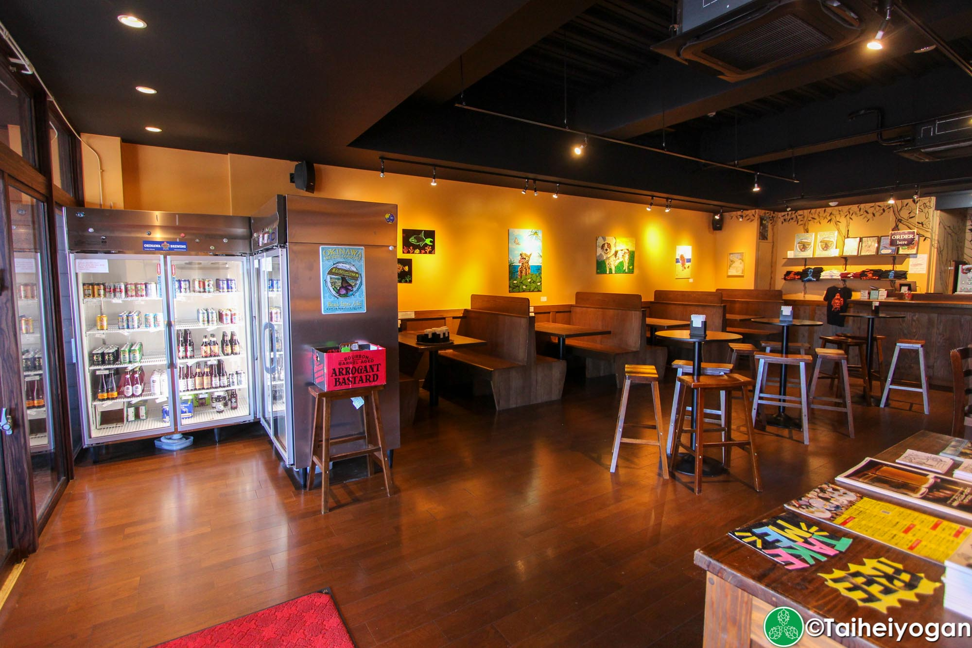 Okinawa Brewing Company - Interior
