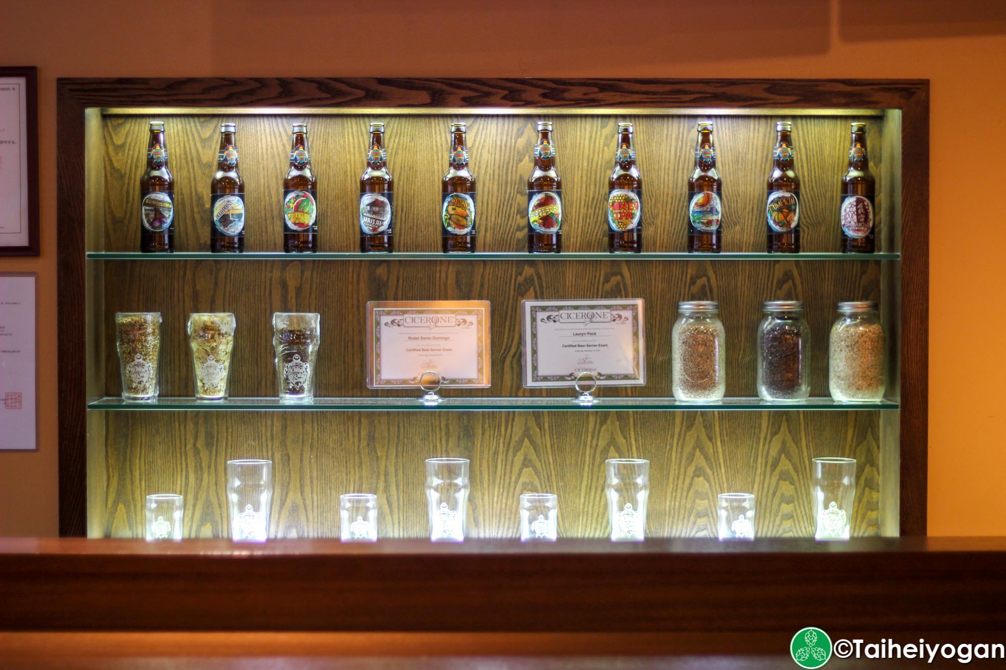 Okinawa Brewing Company - Interior - Decorations
