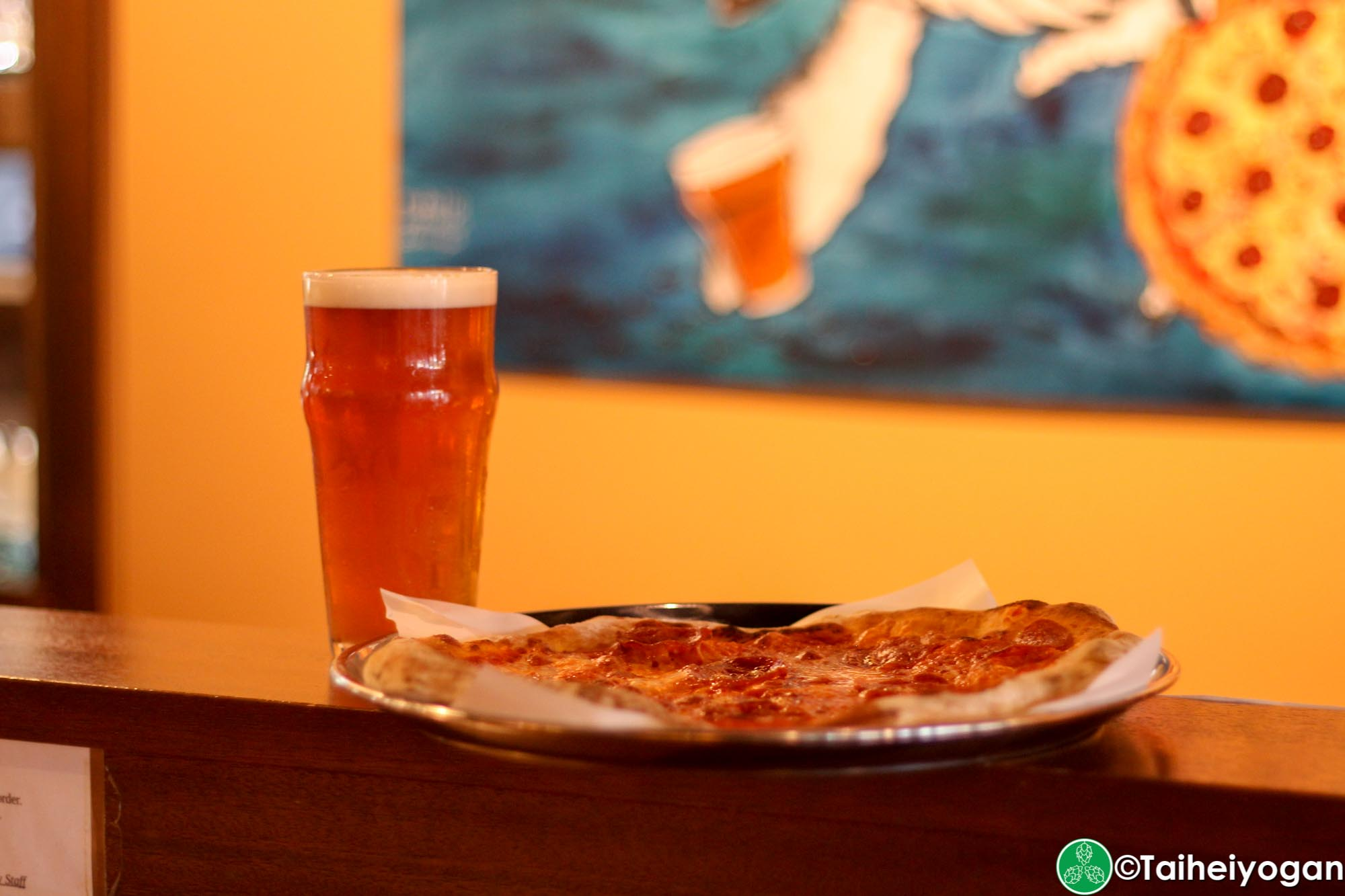 Okinawa Brewing Company - Menu - Pizza & Okinawa Brewing Company Beer