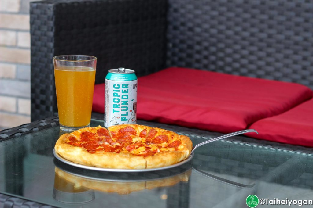 Pizza Sun Okinawa - Menu - Pepperoni Pizza & Beer