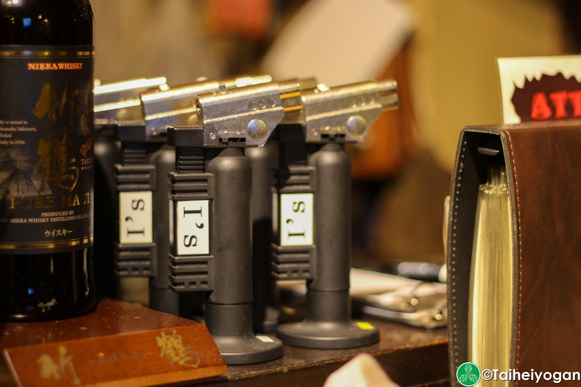 I's Public Ale House - Interior - Cigar Lighters