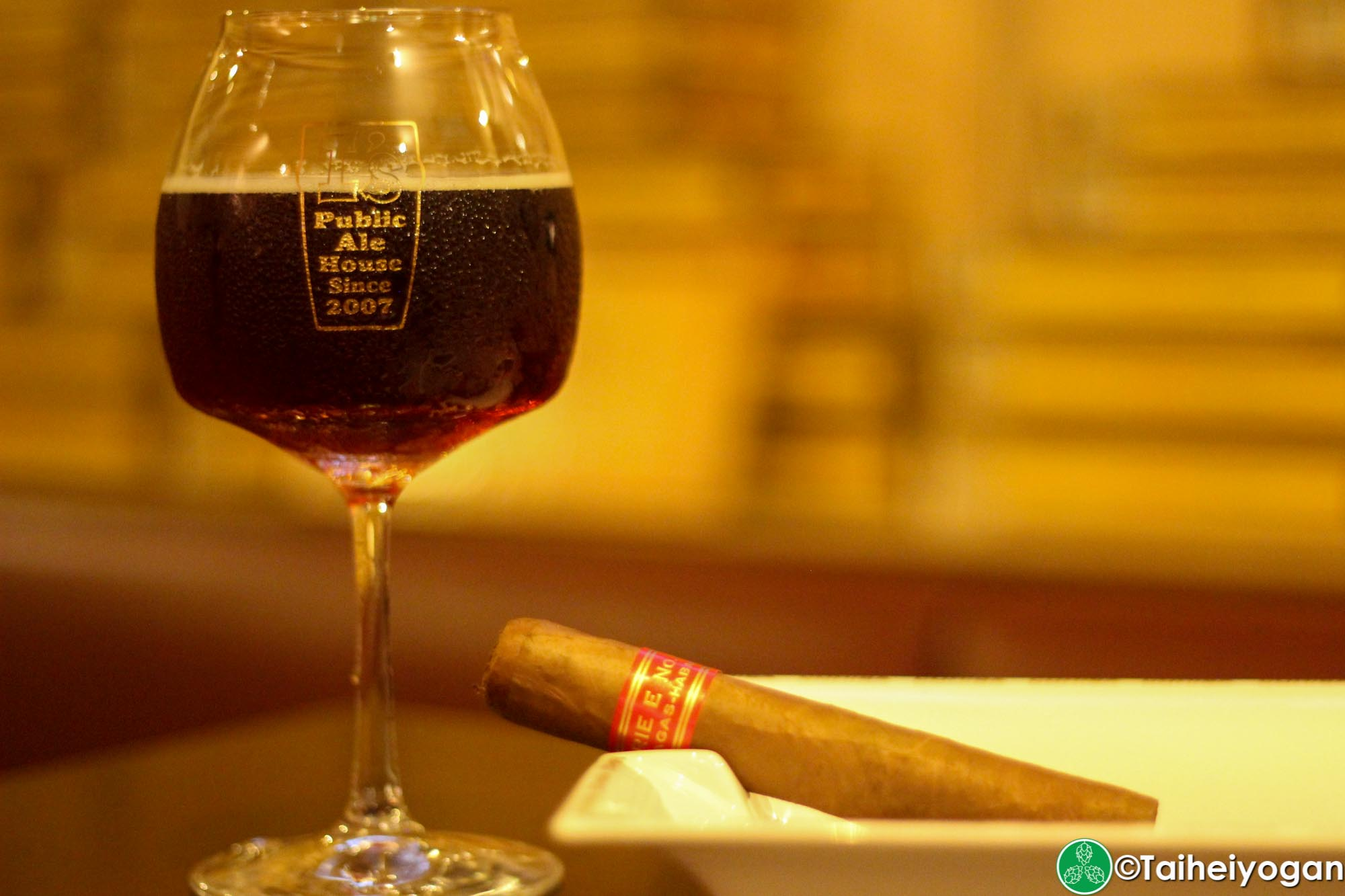 I's Public Ale House - Menu - Barley Wine & Cigar