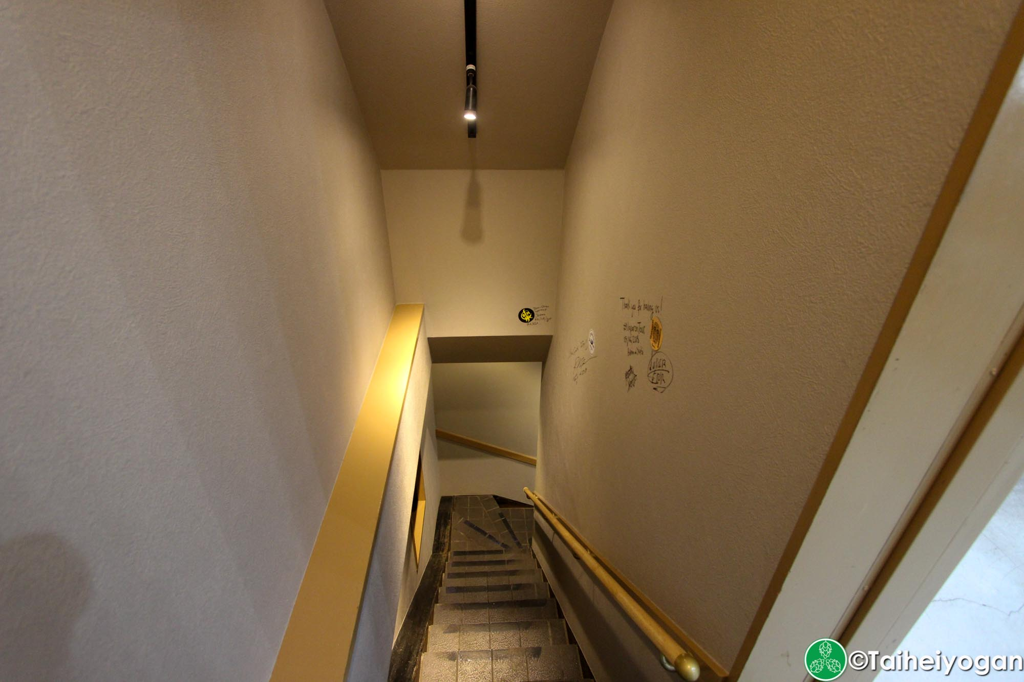 Beer Ma (Kanda) - 2F - Stairs to 1F