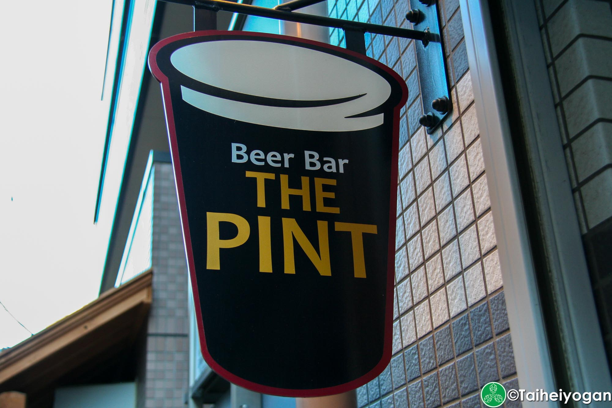 Beer Bar the Pint - Sign