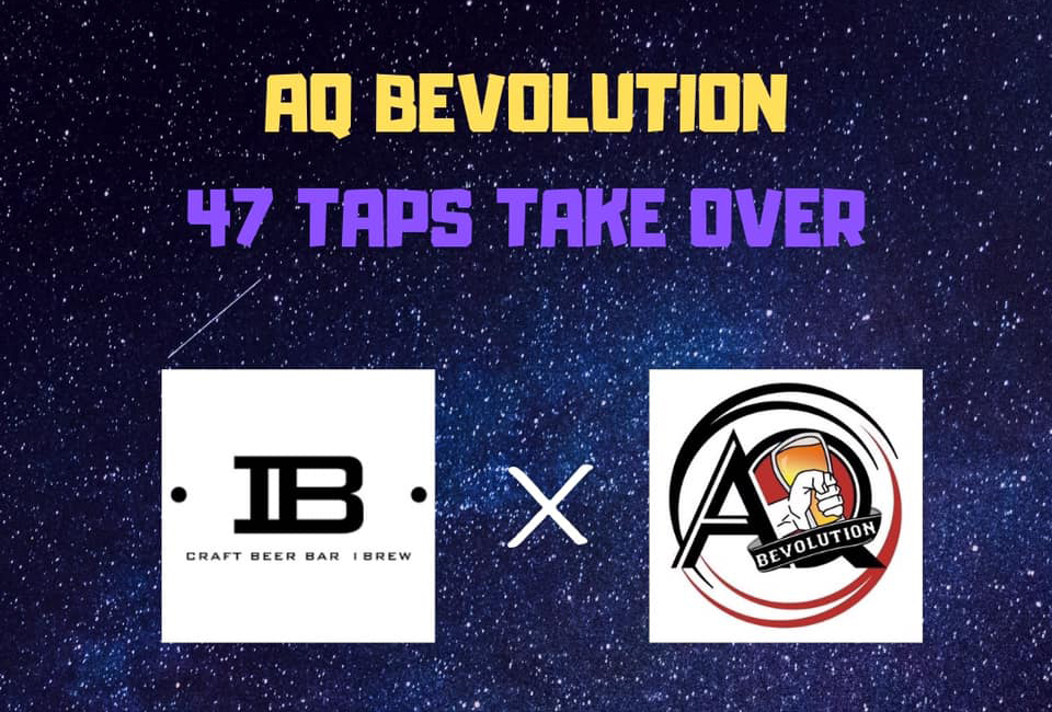 AQ Bevolution Tap Takeover at Ibrew Akihabara