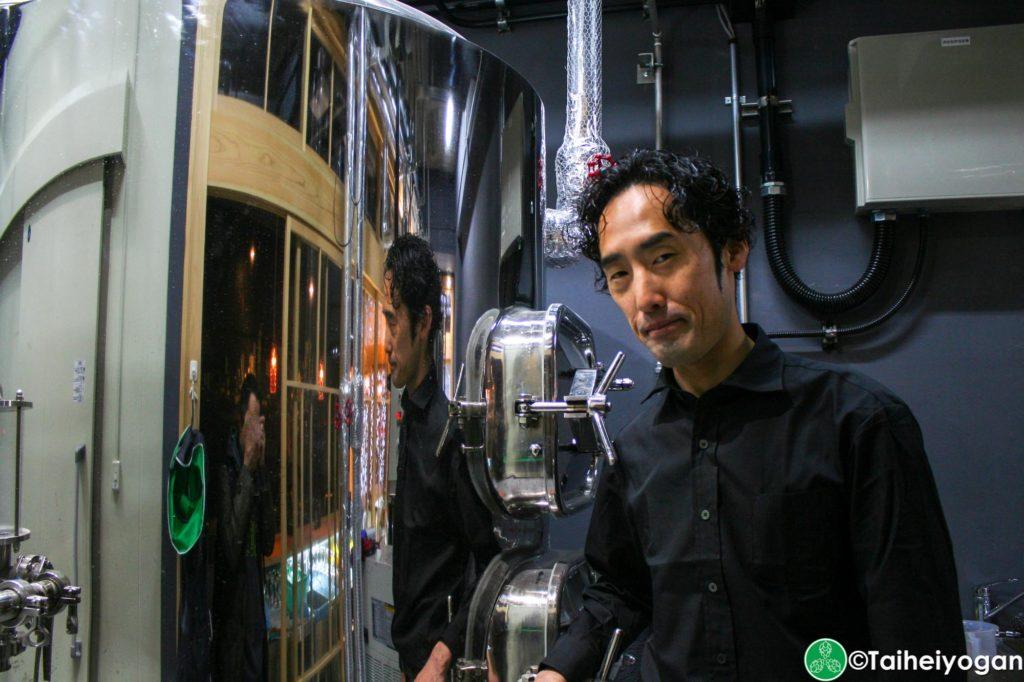Tokaido Beer - Head Brewer - Tanoue-san