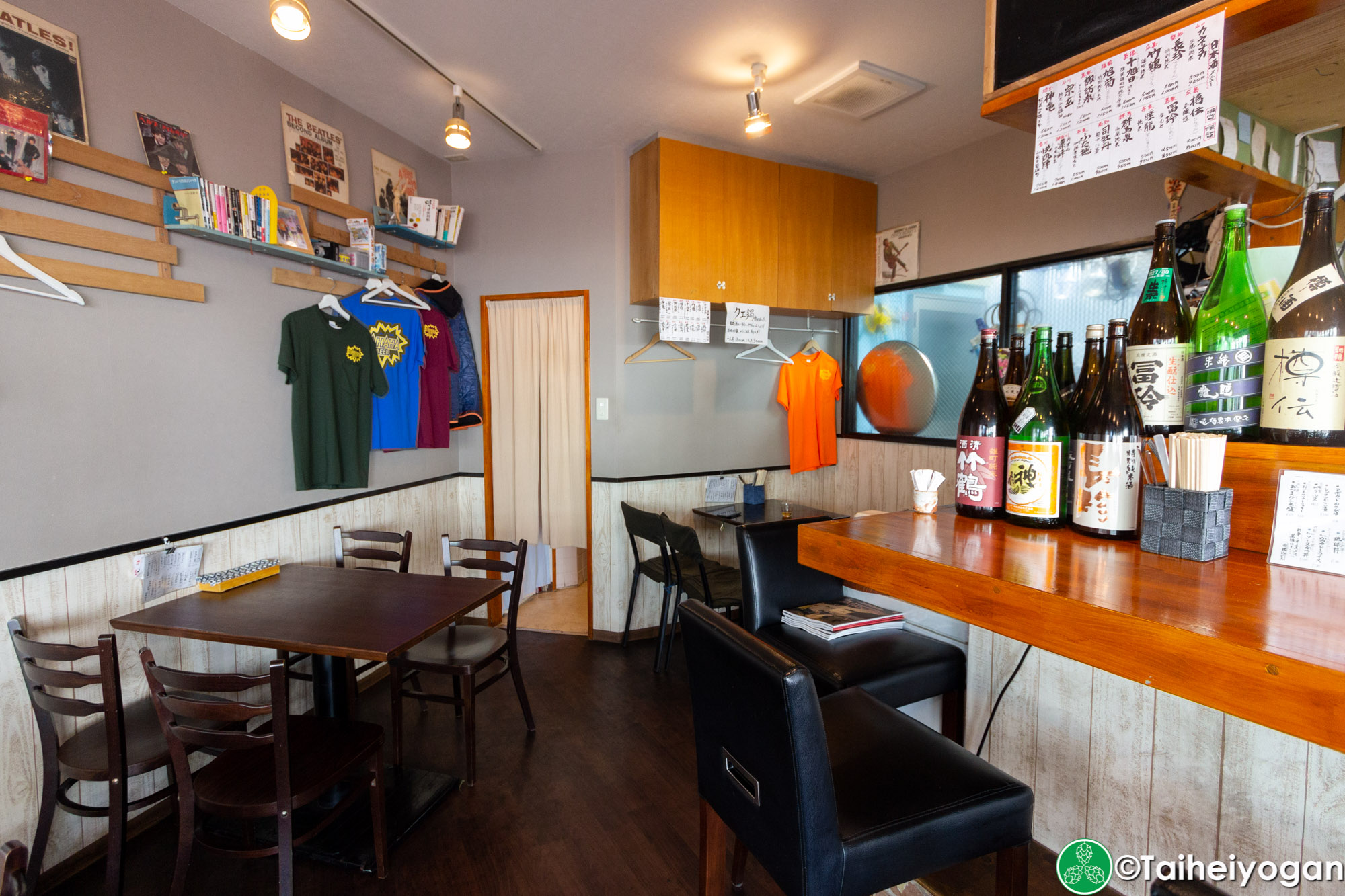 ガハハビール・Gahaha Beer - Interior - Table Seating
