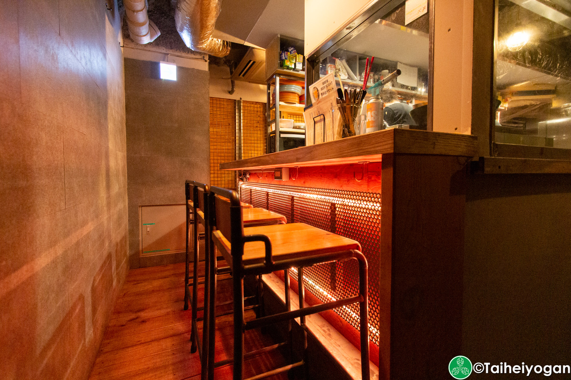 Craft Beer Bar Ibrew (恵比寿駅前店・Ebisu Ekimae) - Interior - Bar Counter