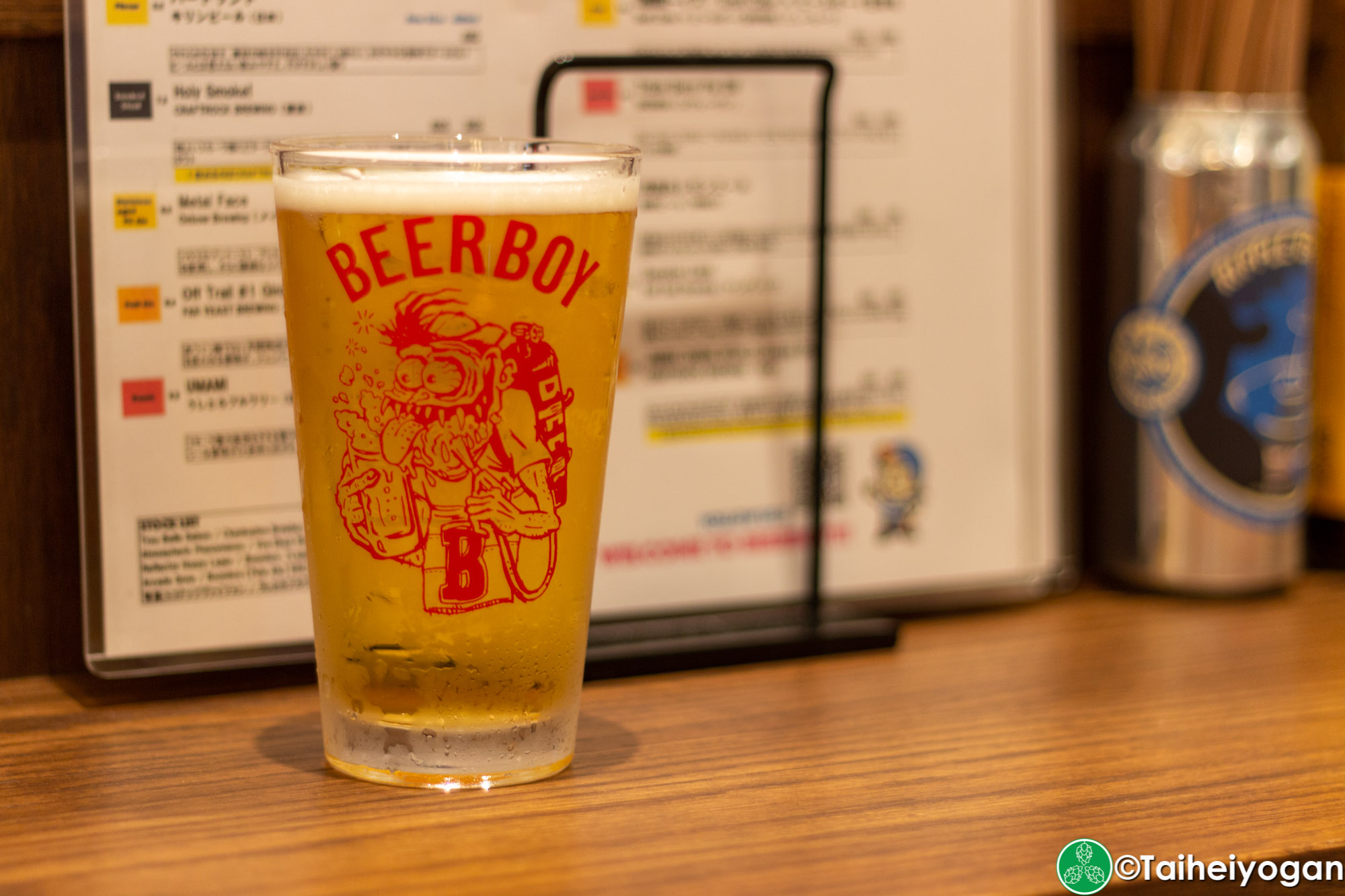 立ち飲みビールボーイ・Standing Bar Beer Boy (渋谷パルコ店・Shibuya Parco) - Menu - Craft Beer