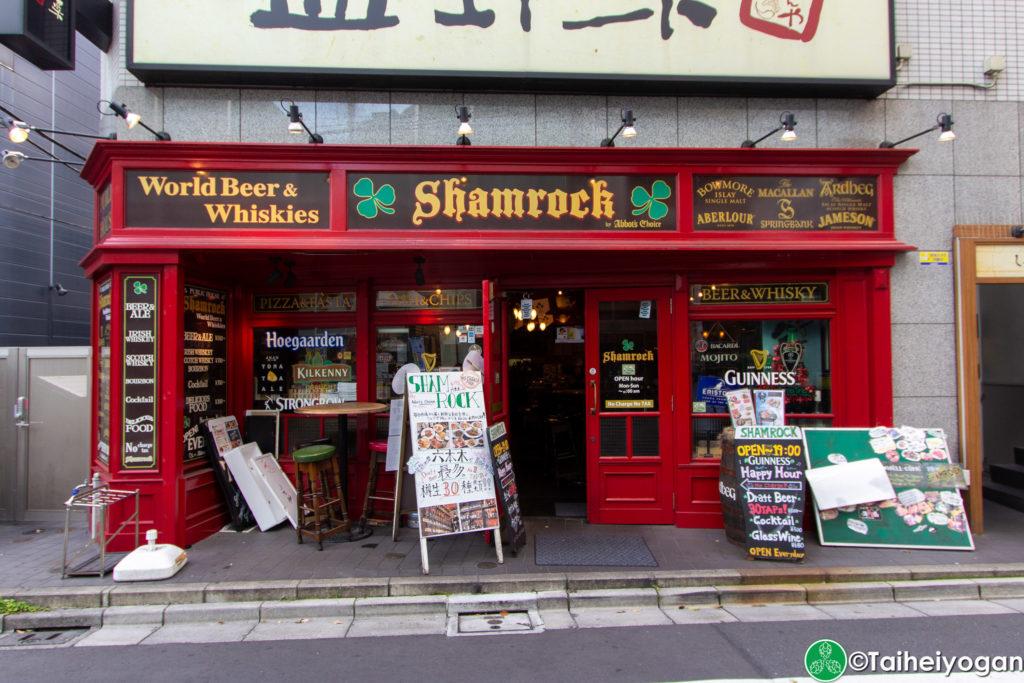 Shamrock Roppongi - Entrance