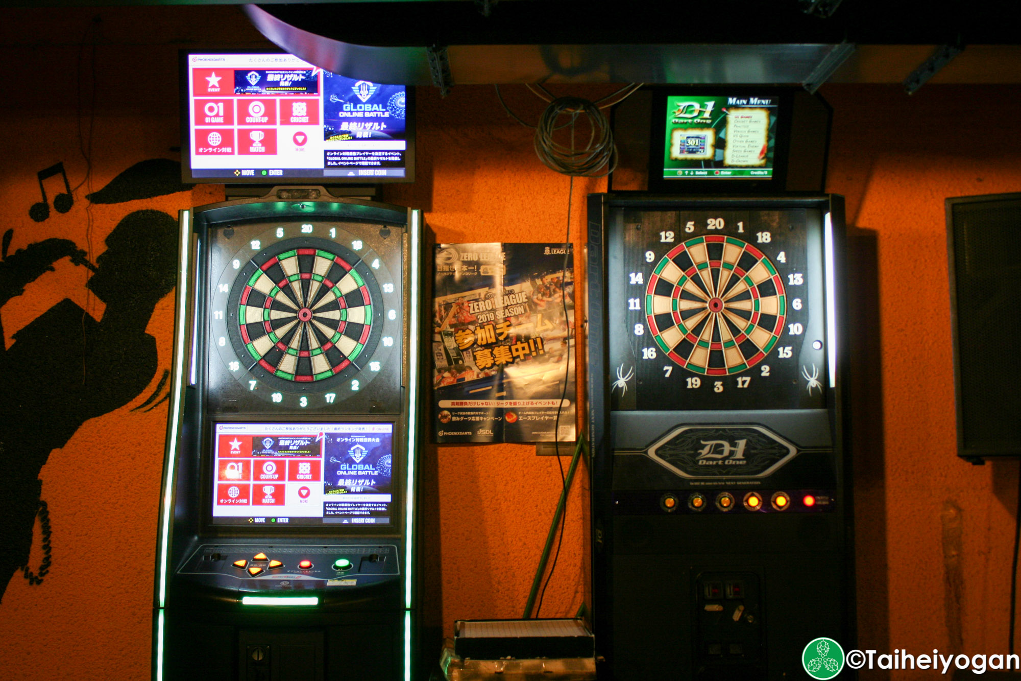 The Vault - Interior - Dart Board