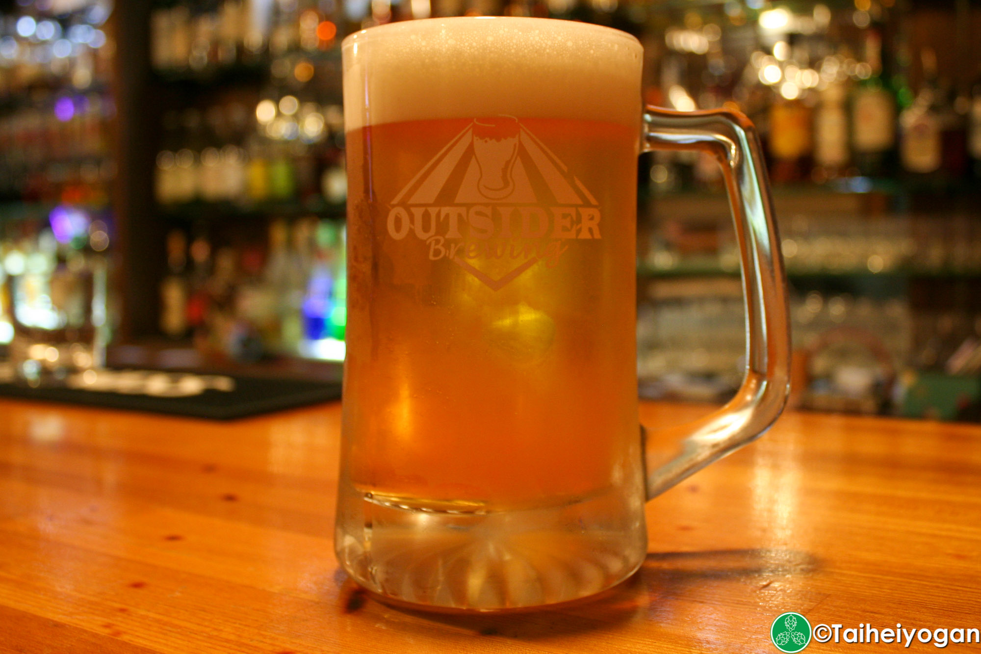The Vault - Menu - Outsider Brewing Craft Beer