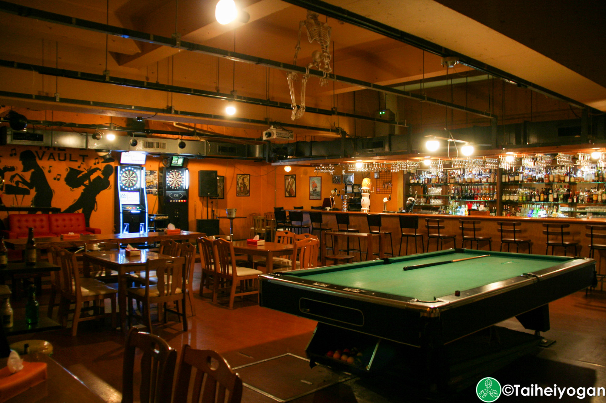 The Vault - Interior - Pool Table