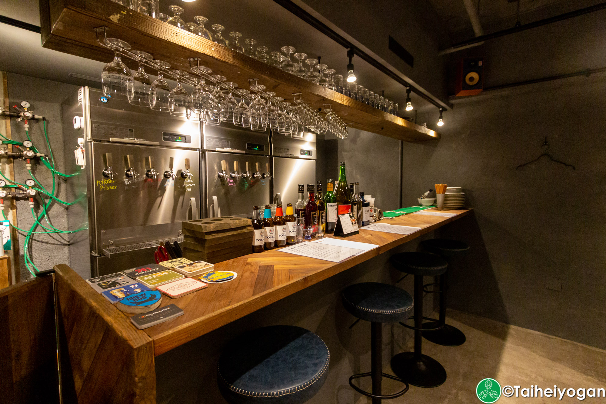 クラフトビールシザーズ池尻大橋・Craft Beer Scissors (Ikejiri Ohashi) - Interior - Bar Counter Seating