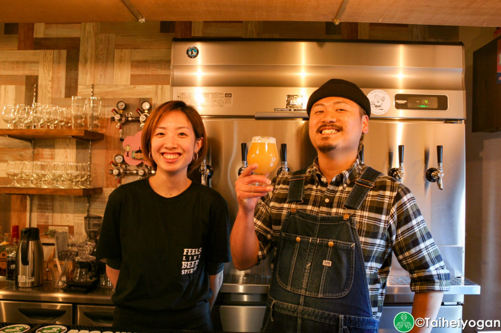 Kakurenbo Craft Beer Cafe Owners