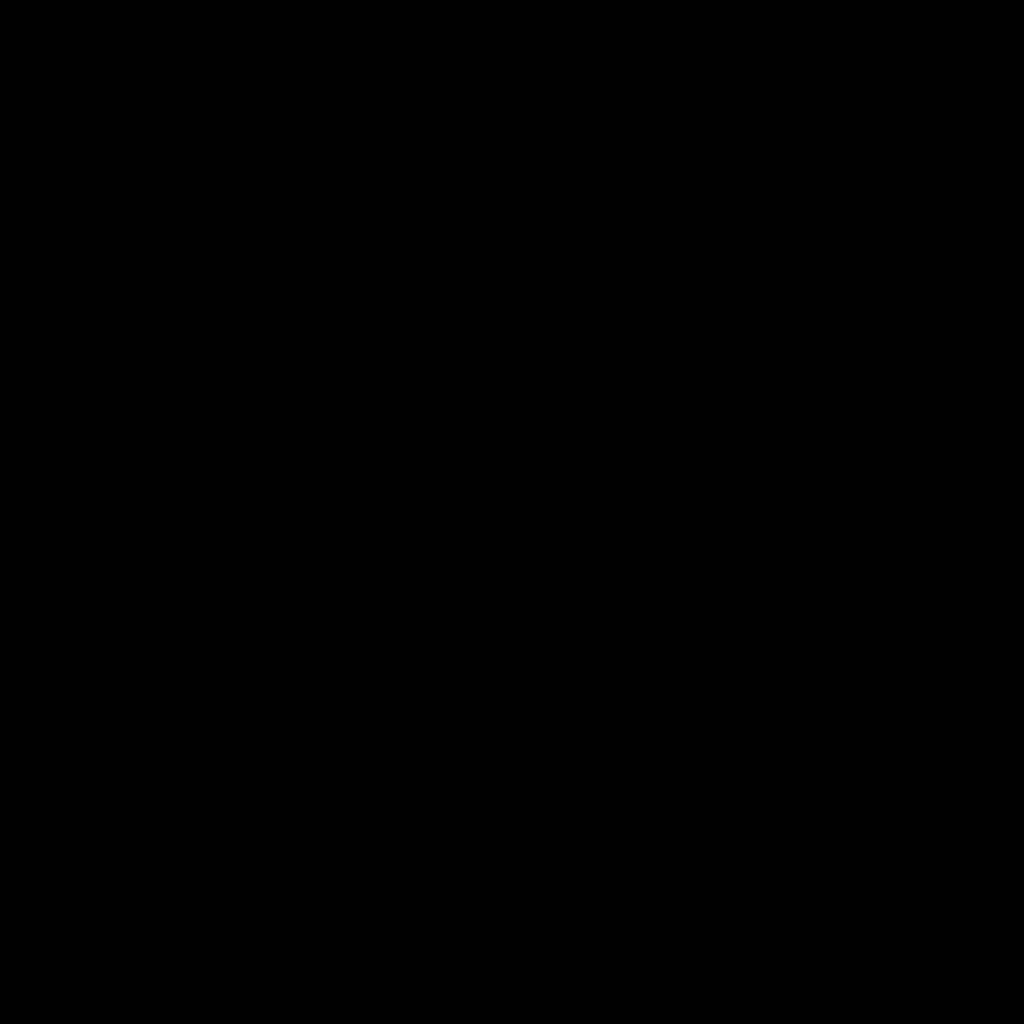 Number 6 Logo (Black)