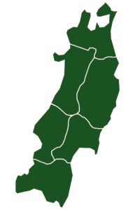 Tohoku Map